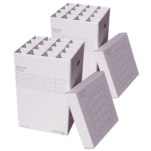 Manager 25 Two-Pack Bundle Rolled Document Storage