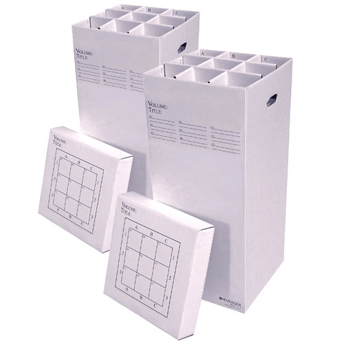 Manager 37-9 Two-Pack Bundle Rolled Document Storage