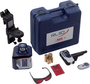 Agatec RL110 Rotary Laser Level Package 784260 ES4244
