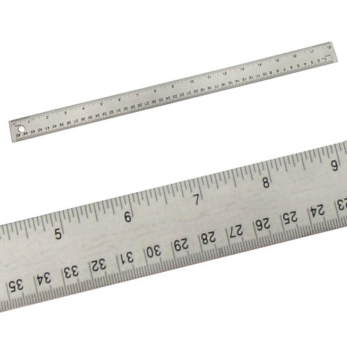 "Alumicolor 8018 - 18"" Stainless Steel Ruler"