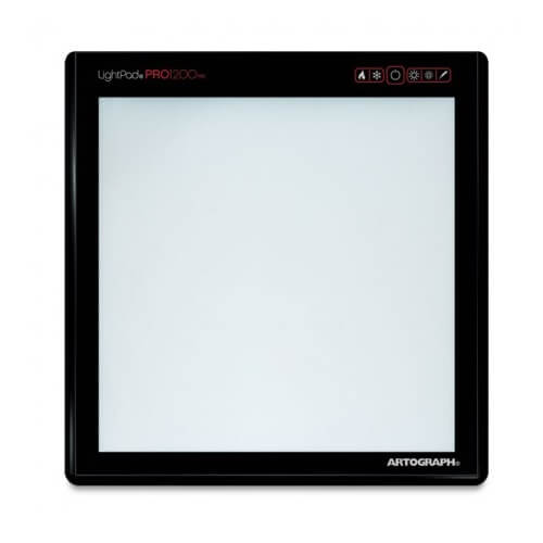 "Artograph 500-001 - LightPad Pro1200 LED Light Box 12"" x 12"" ES7666"