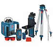 Bosch Self-Leveling Rotary Laser with Layout Beam Complete Kit GRL300HVCK ES4535