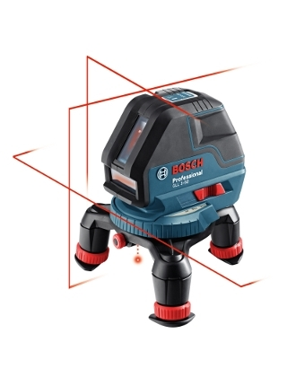 Bosch Three Line Laser with Layout Beam GLL 3-50 ES4912