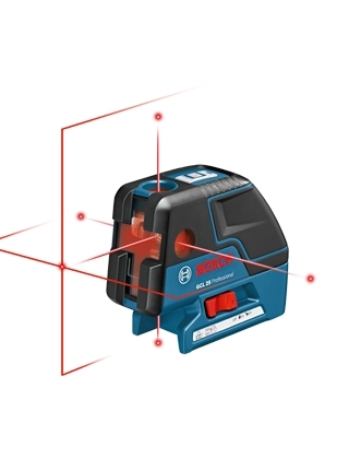 Bosch Combination Cross Line & 5-Point Laser GCL25 ES4978