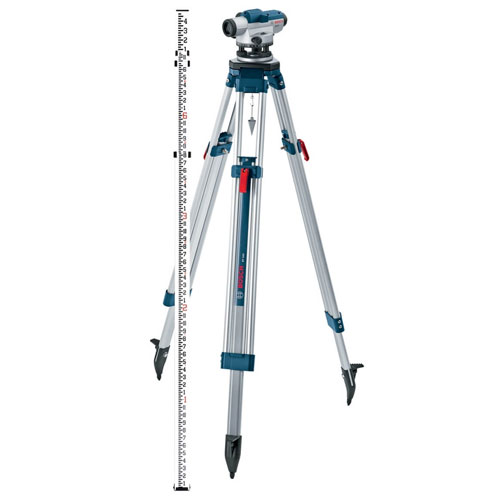 Bosch Bosch 26X Zoom Optical Level Kit with Tripod and Rod (GOL26CK) ES5149