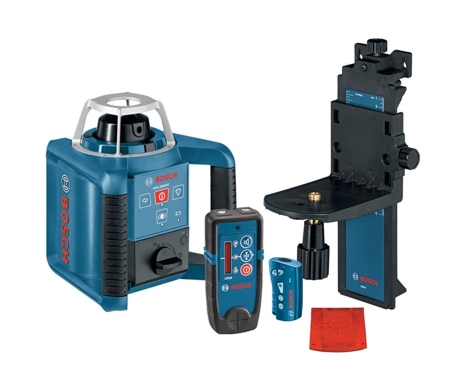 Bosch Self-Leveling Rotary Laser with Layout Beam Interior Kit (GRL300HVD) ES5153
