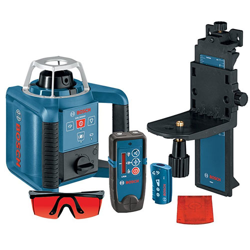 Bosch Self-Leveling Rotary Laser with Layout Beam Interior Kit GRL300HVD ES5153