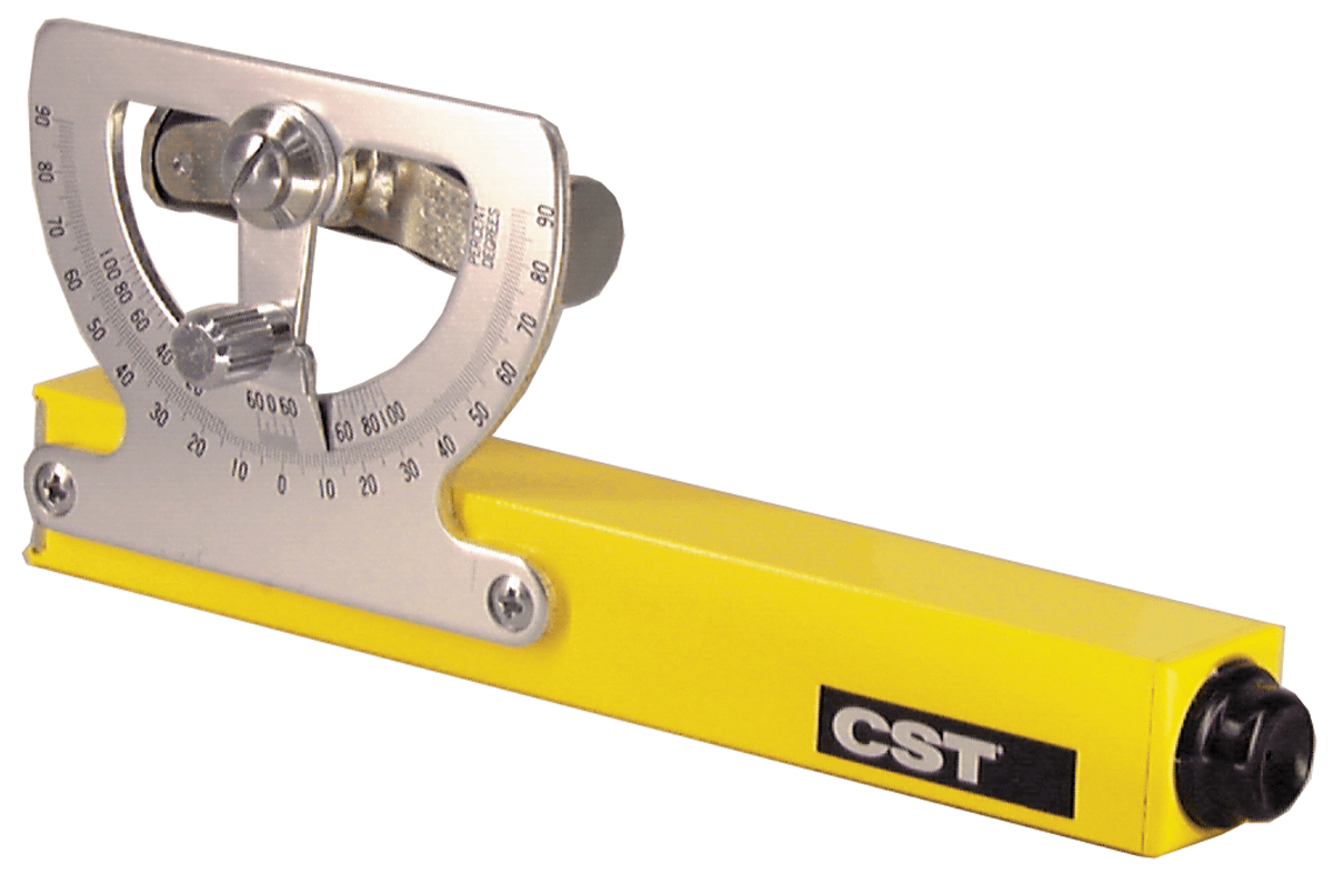 "CST/Berger 5.25"" Abney Hand Level with Built-In Compass (17-640) ES5163"