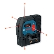 Bosch 5-Point Self-Leveling Alignment Laser GPL 5 ES5166