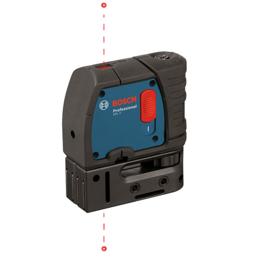 Bosch 2-Point Self-Leveling Plumb Laser GPL2