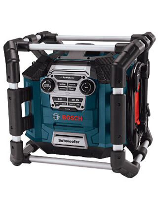 Bosch Power Box 360 Jobsite AM/FM Stereo PB360S ES5464