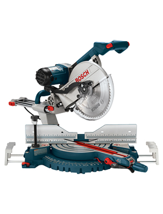 "Bosch 12"" Dual-Bevel Slide Miter Saw 5312 ES5466"