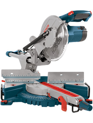 "Bosch 10"" Single-Bevel Slide Miter Saw 4405 ES5472"