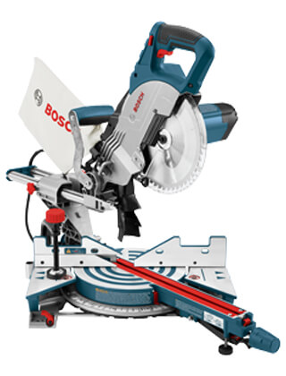 "Bosch 8-1/2"" Single Bevel Compound Miter Saw CM8S ES5473"