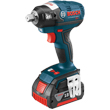"Bosch 18V EC Brushless 1/2"" Square Drive Impact Wrench IWBH182-01L ES5495"