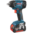 Bosch 18v Impact Wrench w/Fat packs 24618-01 ES5498