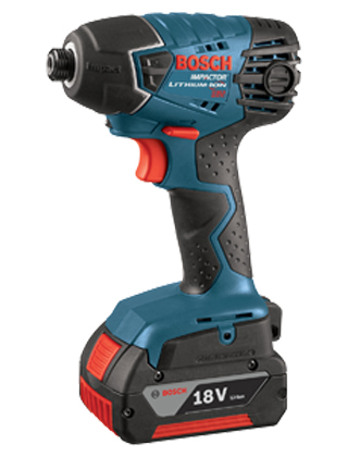 "Bosch 18V Lithium-Ion ¼"" Hex Impact Driver 25618-01 ES5504"