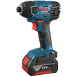 "Bosch 18V Lithium-Ion 1/4"" Hex Impact Driver 25618-01 ES5504"
