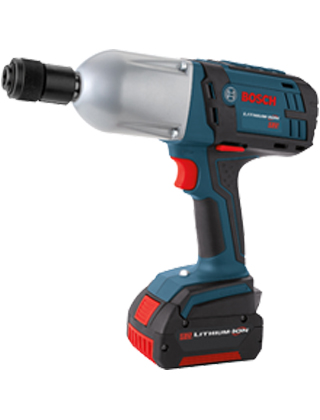 "Bosch 18V High Torque Impact Wrench with 7/16"" Hex HTH182-01 ES5510"