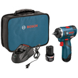 "Bosch 12V Max EC Brushless Lithium Ion 1/4"" Hex Drill/Driver PS22-02 ES5516"