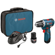 "Bosch 12V Max EC Brushless Lithium Ion 3/8"" Drill/Driver PS32-02 ES5518"