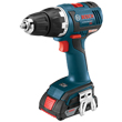 "Bosch 18V EC Brushless Compact Tough 1/2"" Drill/Driver DDS182-02L ES5530"
