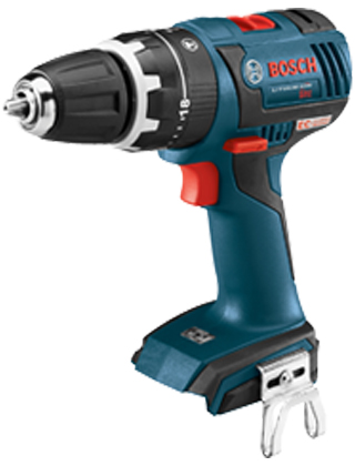 "Bosch 18V EC Brushless Compact Tough 1/2"" Hammer Drill/Driver HDS182BL ES5542"