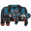 Bosch 12V 2 Tool PS41 Drill Driver and PS31 Impact Driver Lithium-Ion Combo Kit CLPK22-120 ES5557