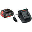 Bosch 18V Lithium-ion Battery and Charger Starter Kit SKC181-101 ES5561