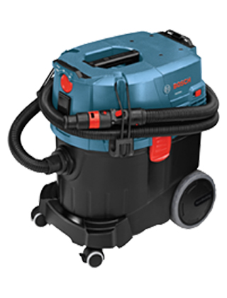 Bosch 9-Gallon Dust Extractor with Semi-Auto Filter Clean VAC090S ES5607