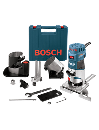 Bosch Palm Router Laminate Installer Kit PR20EVSNK ES5738