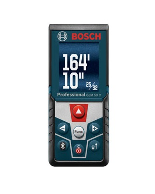 Bosch GLM 50 C Digital Laser Distance Measuring Tool with 165 Foot Range ES6619