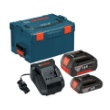 Bosch SKC181-303L - 18V Lithium-Ion Batteries and Charger Starter Kit with L-Boxx-3 Storage Case (2.0 Ah) ES6755