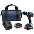Bosch HDS183-01 - 18V 4.0 Ah Cordless Lithium-Ion EC Brushless Compact Tough 1/2 in. Hammer Drill Driver Kit ES7611