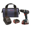 "Bosch HDS181A-01 - 18V Compact Touch 1/2"" Hammer Drill/Driver Kit ES8199"