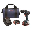 "Bosch HDS183-01 - 18V EC Brushless Compact Tough 1/2"" Hammer Drill/Driver Kit ES8201"
