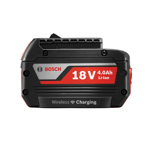 Bosch WCBAT620 - 18V 4.0 Ah Wireless Charging Lithium-Ion FatPack Battery