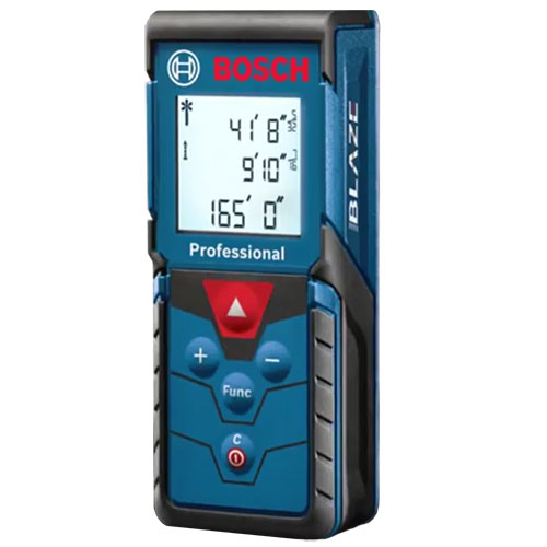 Bosch GLM165-40 - Blaze Pro Digital Laser Distance Measuring Tool with 165 Foot Range ES8613