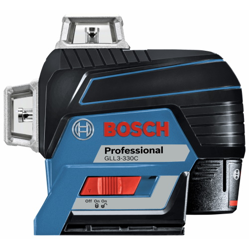 Bosch GLL3-330C - 360 Degree Connected Three-Plane Leveling and Alignment-Line Laser