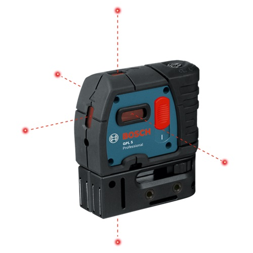 Bosch GPL 5 S - 5-Point Self-Leveling Alignment Laser