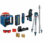 Bosch REVOLVE2000 Self-Leveling Horizontal and Vertical Rotary Laser Kit - GRL2000-40HVK ET10731
