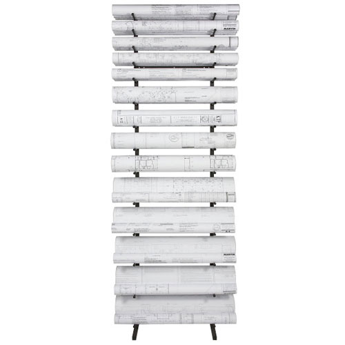 Brookside Design Vis-i-Rack Blueprint Storage Rack VR864