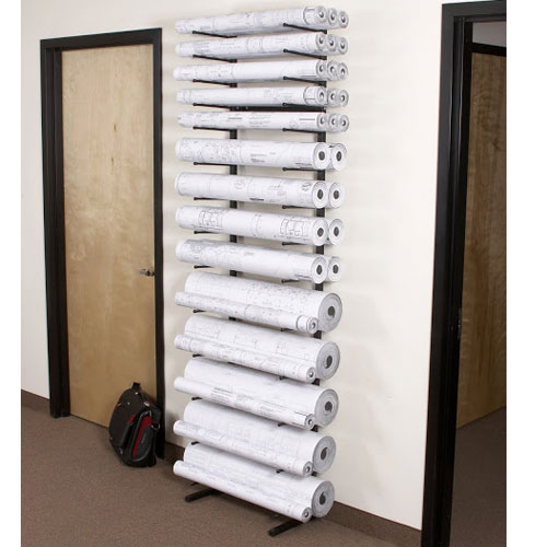 Brookside design vis i rack blueprint storage rack vr864 for Architectural plan racks