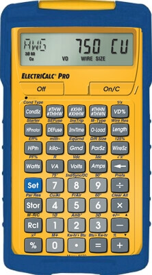Calculated Industries ElectriCalc Pro 5070