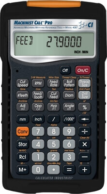 Calculated Industries Machinist Calc Pro Calculator 4087 ES4184