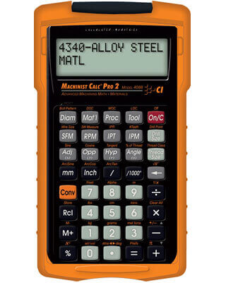 Calculated Industries 4088 - Machinist Calculator PRO 2 ES6855