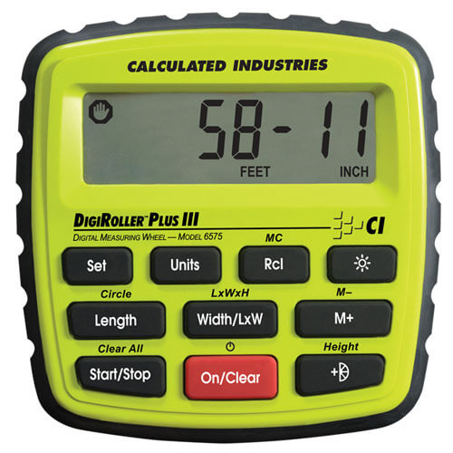 Calculated Industries 6575 - DigiRoller Plus III Digital Measuring Wheel