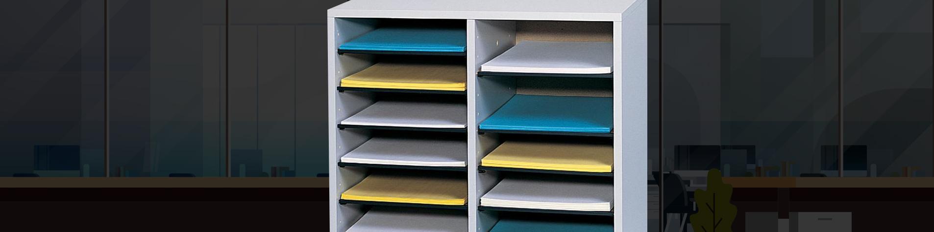 Literature Organizers Office Mailbo