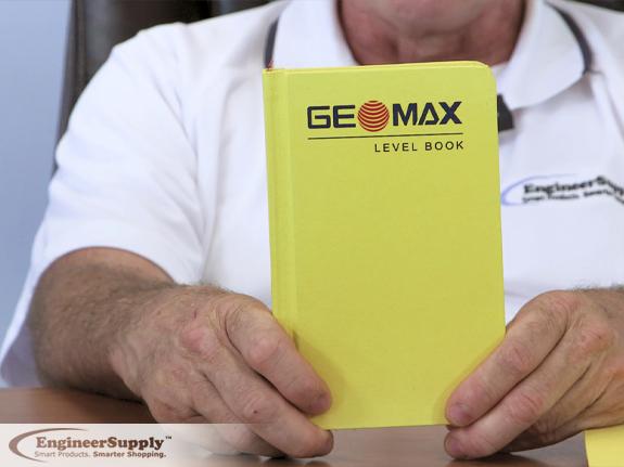 Video geomax field books