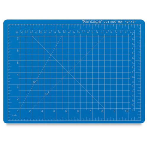 Dahle Vantage Self-Healing Cutting Mat - Blue (5 Sizes Available)